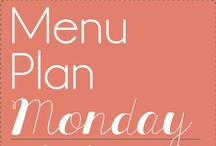 Menu Plan Monday / by Kelly Miller {Mostly Homemade Mom}
