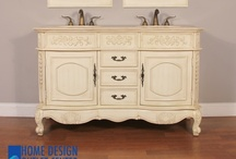 """HWM-003-AW-56 56"""" Double Bathroom Vanity Cream Marble / HWM-003-AW-56 56"""" Double Bathroom Vanity Cream Marble  56"""" Double Bathroom Vanity Cream Marble Top          Size: 56""""W x 22""""D x 35""""H      •Crafted of birch wood.  •Cream marble top.   •Beig porcelain sink.  •Base ships assembled with the sink and the marble top.  •Vanity has opening for plumbing. •Side cabinet available.  •Counter top has 3 pre-drilled holes for 8"""" spread faucet.  •Matching mirror available but not included."""