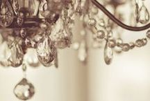 L I G H T  : C H A N D E L I E R S / Every home should have a little bling.