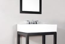 "FW-8017-31-PS 31"" Espresso Single Bathroom Vanity | Porcelain Sink"