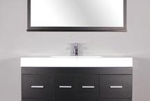 "AT-8042 47"" Single Modern Bathroom Vanity Set | Black"