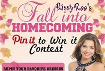 Contests: WIN a Dress! / Enter our Rissy Roo's Contests for chances at winning your prom or homecoming dress for free!
