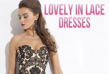 Lovely In Lace / Lace dresses have been around forever, but have recently become one of the hottest trends in the fashion world. Girly and feminine looks are all over fashion magazines and top of the list for fashion bloggers. View our stunning lace dresses here and at www.RissyRoos.com!