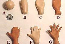D O L L S : P A P E R  - C L A Y / Paper- Clay dolls, Papier mache dolls, clay dolls Tutorials, tips, tricks and ideas