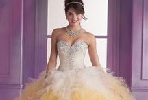 Quinceanera Dresses / Special gowns for a once in a lifetime special occasion. Choose from our stunning Quinceanera dress collection at Rissy Roo's. Quineanera also called fiesta de quince años is the celebration of a girl's fifteenth birthday. At Rissy Roo's we hope to provide you with the most beautiful Quinceanera dress for your transition into young womanhood.