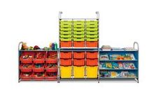 Gratnells Callero / Illustrates some the combinations possible with the new Callero storage system from Gratnells