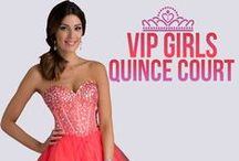 Quinceanera Court / Damas Dresses / For special once in a lifetime occasions such as your Sweet 15, Quinceanera, or Sweet 16, your VIP Girls or Quince Court are very important.  So we have made it our job to track down the best of the best VIP Girl Dresses and Damas Dresses around.  Shop Quince Court Dresses, Damas Dresses, and VIP Girl Dresses at RissyRoos.com.