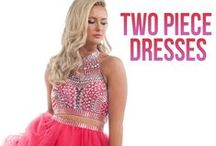 Two Piece Dresses / Two Piece Dresses are all the rage right now.  Dare to bare a little midriff in these trendy 2 piece dress styles.  Check our the Two Piece Short Dresses for Homecoming and Prom! The Prom 2015 collection of dresses will feature a huge number of Two Piece Long Dresses as well as cute Two Piece Short Dresses.