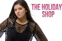 The Holiday Shop / Find the perfect holiday dress, shoes, and gifts for every girl on your list at Rissy Roo's.  Shop leopard scarves, rhinestone clutches, party dresses, trendy shoes, jewelry, accessories, and more.  Every girls closet will swoon for this holiday shop! Now thru 12/14 take $25 off $100 ($50 off $200 and $100 off $400) with promo code HOLIDAY