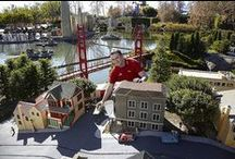 Miniland USA / Miniland USA is the heart of LEGOLAND® California. A dedication to the ultimate expression of the LEGO® art form, Miniland USA includes reproductions of seven areas of the United States, all constructed with 20 million LEGO bricks in 1:20 scale, that can be seen from many places in the Park. / by LEGOLAND California