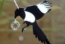 Magpie gatherings / Jewellery and shiny shine.