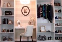 Kim's Closet / Someday she will design the closet of her dreams!!