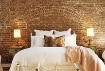 Stone and Brick Accents in Interiors / Adding interest and texture to interiors...