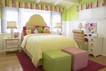 Bedrooms for Teens and Tweens / Sassy and Sohisticated Spaces.