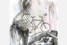 watercolor love / by Carrie | CarrieLoves.com
