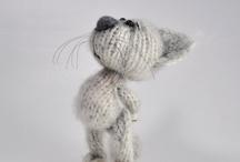Cuddlely critters / by Ethel Grogan