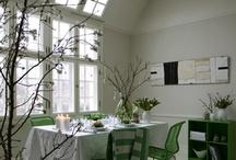 Easter by KML Design / Create a green easter with Rosendahl, Holmegaard, Royal Copenhagen, Montana and Geismars