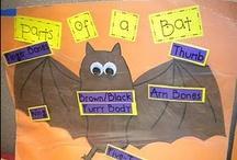 School: October / Fire Safety, Halloween, Bats