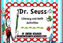 School: March / Dr. Seuss Week, Read Across America, St. Patrick's Day