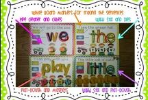 School: Word Work & Word Families