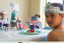 Party: Frozen Favors, Fun, & Games / Disney frozen party favors, dress up, and other fun games!