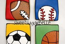 Sports Cookies / by Susan Theriot