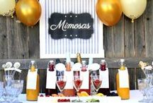 Mimosa and Bloody Mary Bar Party