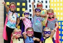 School: Super Heros