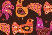 Aviary / Birds as portrayed in art.