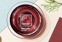Marsala, Pantone Color of the Year 2015 / It's a wine, it's a color, it's the 2015 Color of the Year!