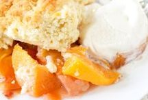 Perfect Peach Recipes / When it comes to easy peach dessert recipes, this board has them all! From deliciously easy peach cobbler recipes to peach dessert bar recipes, easy peach pies to peach crisp recipes, we have all of the best peach recipes from our #PeachWeek and beyond (including a few savory recipes as well)! If you'd like to join this board, tweet at us (@RecipeLion)! Also, members are allowed to invite other members!