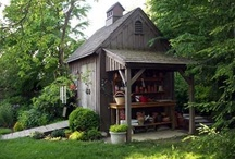 Outdoor sheds / by Micki Rau
