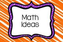 Math Ideas / Math Ideas for the classroom.