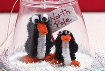 CHRISTMAS CHENILLE & PIPECLEANER FIGURES / by Claudia Jean Nelson