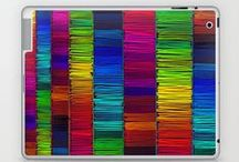 My Laptop/iPad Skins & Cases / by The Artwork Of Morgan Ralston