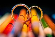 Ring Shots / A collection of fun and creative photographs of rings from real weddings. / by Seth Kaye