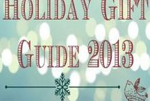 Holiday Gift Guide 2013 / #HolidayGiftGuide 2013, #reviews, #giveaways, #2013