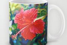My Mugs on Society6 / Mugs, mugs and more MUGS! Mugs come in 11 oz and 15 oz with my lovely painting images wrapped around them. / by The Artwork Of Morgan Ralston
