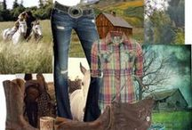 Country Equestrian Photo Shoot Outfits / Do you want to know what to wear for an equine portrait session with me? Here are some ideas for a soft country style.