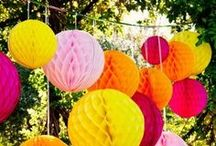 Summer Garden Party Ideas / Make your garden party shine!