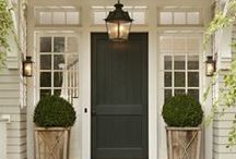 Outdoor Spaces & Exteriors / by Emily A. Clark
