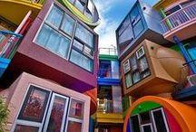Architecture original et remarquable!