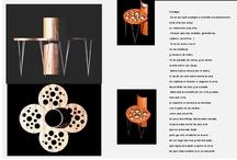 Diseño de objetos / Útiles o casi útiles, desde el compromiso con el arte hacia la diversidad de métodos y materiales originarios del lugar natural y/o artificial recuperado y reciclado