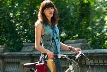 a girl on a bike is a nice girl?