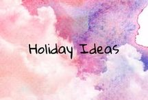 Holiday Ideas / holiday ideas, crafts, gifts, decor, food and more