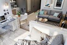 Espace ouvert // Loft / by Dessins Drummond // Plan de maison & plan de rénovation