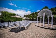 Terrace Wedding Ceremony / by Perona Farms