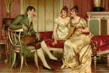 Jane Austen-ish / Paintings portraying Jane Austen's time that might suit her writings