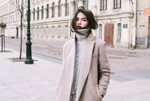 """fashion • cold days— / """"Simplicity is the keynote of all true elegance."""""""