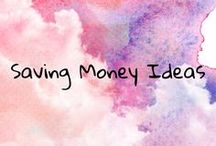 Saving Money Ideas / Frugal, money saving ideas to help cut costs, lower high spending and up savings.